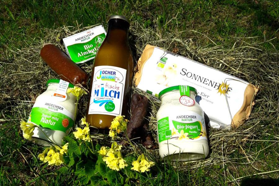 Produkte von Biohof Jocher